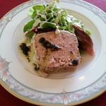 コションローズ - 前菜 豚肉のテリーヌ