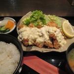 やきとり 鶏陣 - チキン南蛮定食 787円
