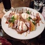 Pesca Cafe - ギャラメルバナナのガレット