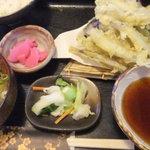 両国総本店 - 2012/7/31 わかさぎ天ぷら定食