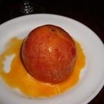 つばめグリル - ランチについてくるトマトのファルシー