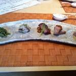 honkonkaisenryourikishina - 前菜♪