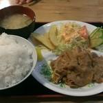 並樹 - 味噌焼き肉定食