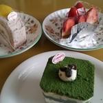 和洋菓子舗日影茶屋 - 2013 12 ケーキたち