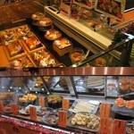 粋魚 - 店頭ではお寿司とお総菜が売られています