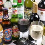 バスモティ - カレーだけでなく、お酒も豊富に♪カレーやおつまみとの相性抜群!