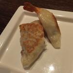 過門香 - 点心コース: えび餃子