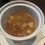 過門香 - 点心コース: スープ