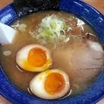 23206315 - しおラーメン+煮卵