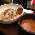ひかり製麺堂 - 甘辛ジャージャーつけ麺