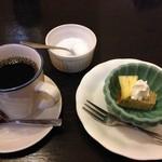 旬菜BUNKO 柚子庵 - プチデザートとコーヒー