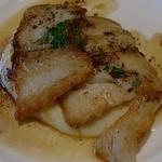 アロッサ - 白身魚のソテー 焦がしアンチョビバター