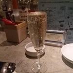 PETIT deco - こぼれスパークリングワイン白