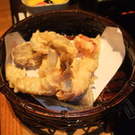 美々卯 - 美々卯御膳の天ぷら。