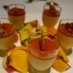 グラン・クロス - (2013/10月)夜コース/デザートのプリンとフルーツ