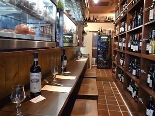 生ハムとワイン メッシタフランコ
