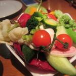 ラ・ブーシェリー・デュ・ブッパ - 生野菜スティック バーニャカウダソース