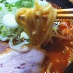 らー麺 武蔵 - 辛麺アップ!