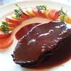 ビストロ エガリテ - 料理写真:牛のほほ肉 丹那ブルーベリーと赤ワイン