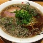 らーめん 辻 - 【悲報】2013.12.28完全閉店。神戸では珍しい醤油ブラック系ラーメン◎