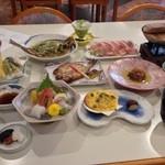しらはま - 宿泊料理(夕食)
