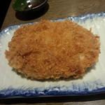 だんまや水産 - 肉汁たっぷりメンチカツ(2013.12.20)