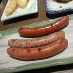 だんまや水産 - 3種のソーセージ(2013.12.20)