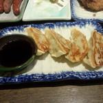 だんまや水産 - 焼餃子(2013.12.20)