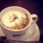 ドトールコーヒーショップ - 20131221ほうじ茶豆乳ラテ