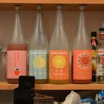 Gobu+ - 日本酒も並んでいました♪