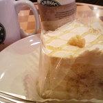 スターバックス・コーヒー - メープルシフォンケーキ