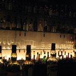 Bar 五感 - カウンターから見えるお酒のボトルって見てると幸せになります。