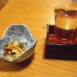 八島 - お酒は増毛の「国稀」。