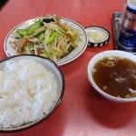 珍満茶楼 - 野菜炒めライス 790円