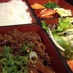 大同門 - 焼肉定食  780円