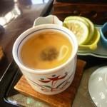 23220345 - 館山伊勢海老ステーキ御膳(茶碗蒸し)