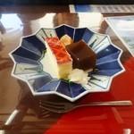 漁港食堂 だいぼ - 館山伊勢海老ステーキ御膳(デザート)