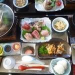 漁港食堂 だいぼ - 館山伊勢海老ステーキ御膳