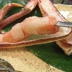 割烹かまた - 蟹!