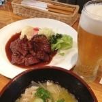Grillにんじん - 今日のランチは牛肉のソテー( ^ ^ )/■