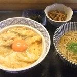 お食事処 中重 - 親子丼(750円)を定食で(+150円)