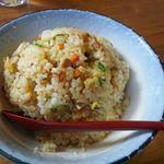 麺屋ふくちぁん - 2013.12. メンズセットのチャーハン大盛り どんぶりサイズ