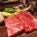 華坊 - 料理写真:今夜は雪舞う阿蘇の宿でマッタリ。馬刺と肥後牛がうまい!@南小国町 上滝温泉「お宿 華坊」