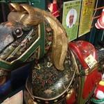 ラッキーピエロ - ラッキーピエロベイエリア本店の木馬