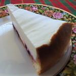紅茶の店 青い空 - レアチーズケーキ