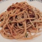 ラスティックハウス - オリジナルミートソースのスパゲッティ小皿で
