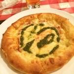 イタリア食堂 - ここのマルゲリータは,ホント,美味しい(≧∇≦)