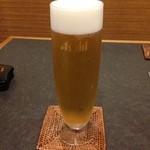 肴家いしはら - 生ビール