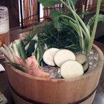 2323242 - 鮮菜の桶盛り