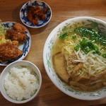 まつむら屋 - 料理写真:ラーメン定食